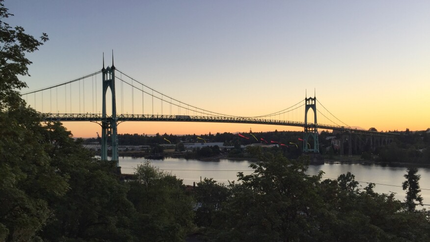 St. Johns Bridge, Portland, Ore.