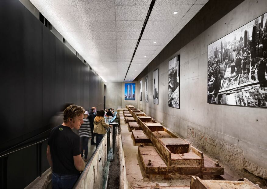 National September 11 Memorial Museum, designed by David Brody Bond.