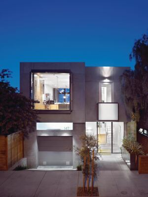 Zack and de Vito sometimes develop their own projects, such as their own house in San Francisco, which they built using a panelized wood system.