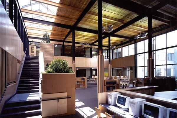 Glen Park Public School in Toronto, Ontario Canada by Taylor Smyth Architects.