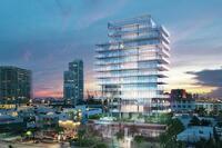 Condo Tower Shimmers in the Miami Sun