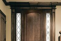 Wood-Look Fiberglass Entry Door