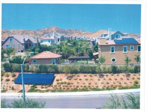UPHILL BATTLE: Jury says no to unorthodox solar panel placement at a master planned community in Santa Clarita, Calif.
