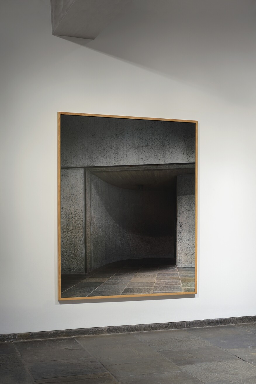 Bas Princen (Dutch, born 1975) Gallery Entrance, The Met (Marcel Breuer, Former Whitney Museum of American Art, New York, 1963–66), installation view, 2017