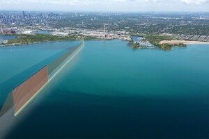 At 2.2 miles, the Ashbridges Bay Treatment Plant Outfall will be the largest wastewater outfall in Canada. Graphic: Hatch Mott MacDonald