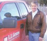 Rocky Geans keeps L.L Geans Construction organized and profitable.