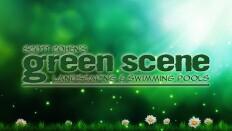 The Green Scene Landscaping & Pools Logo