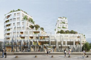 MVRDV Wins Ilot de l'Octroi Competition