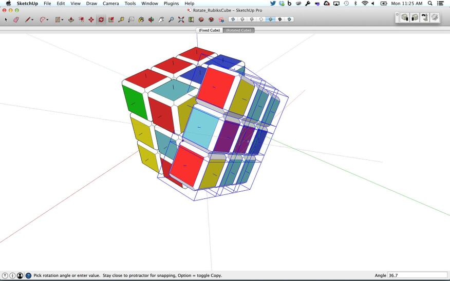 Showing off the modeling capabilities of SketchUp 2014