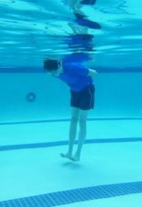 A grown man, learning to swim for the first time, discovers that his body will float when he lifts his toes off of the floor. Miracle Swimming For Adults, based in Sarasota, Fla.,aims to instill confidence in students before teaching them how to swim.