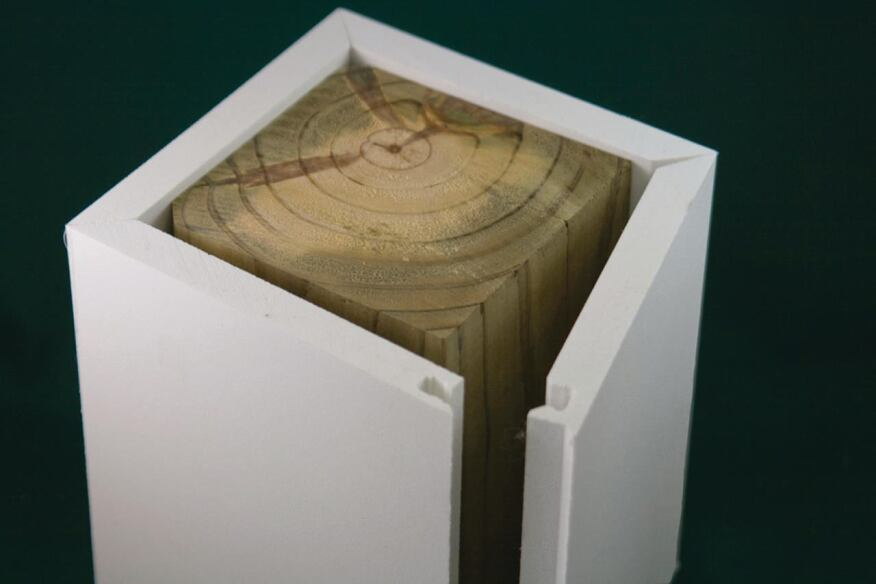 kleer lumber kleersnap post wraps builder magazine