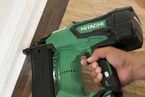 Two Hitachi Cordless Finish Nailers