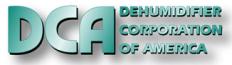 D C A (Dehumidifier Corp. of America) Logo