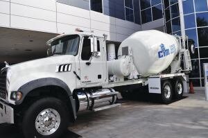 Bid on a ready-mix truck at the CIM Auction.