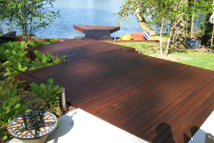 Ready Seal Gives Outdoor Lumber a Facelift