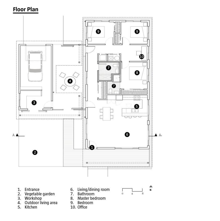 habitat for humanity prototype  designed by el dorado