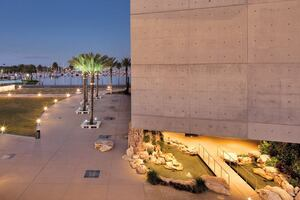 Self-Consolidating Concrete makes for a smooth finish at the Salvador Dali Museum