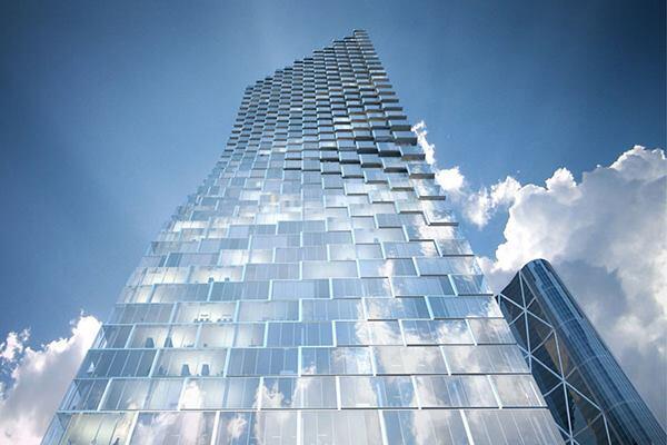 Telus Sky Tower, Calgary, Alberta.