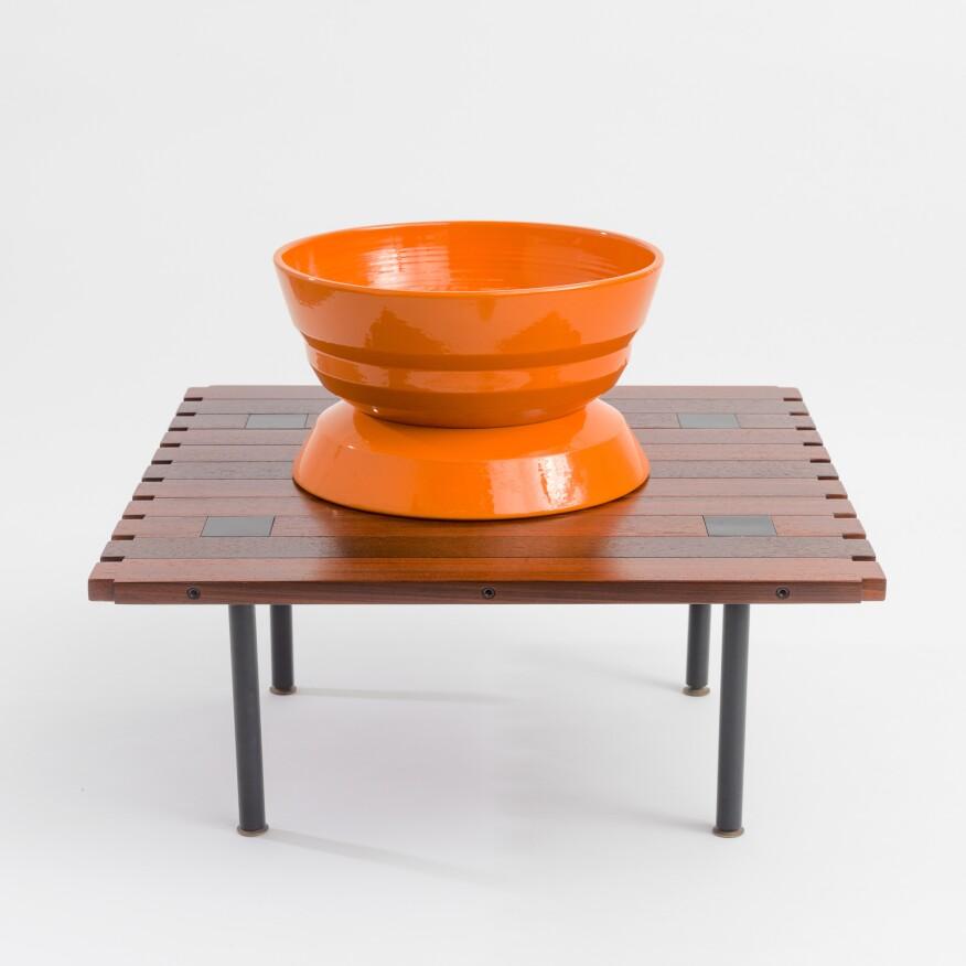 Tantra vase, 1965; stoneware.