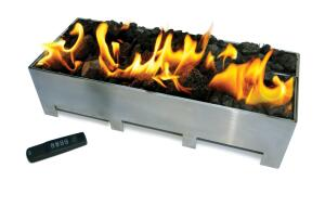 Spark, the manufacturer of unconventional modern gas fireplaces, now offers a burner system that allows architects to bring the same styling outdoors. Dubbed the Linear Burner System Outdoor, the modular unit is fabricated from stainless steel in standard lengths ranging from 2 feet to 8 feet. Features include waterproof internal components and remote control-powered electronic ignition. Spark Modern Fires, 866.938.3846; www.sparkfires.com.