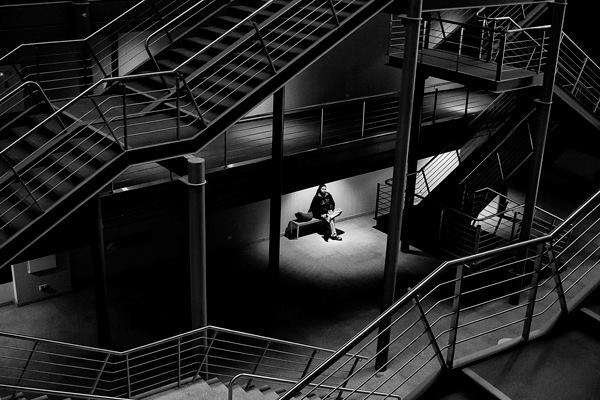 """""""Between Lines."""" Usina del Arte in Buenos Aires, Argentina. 2014 Sony World Photography Awards 1st Place in Argentina National Award."""