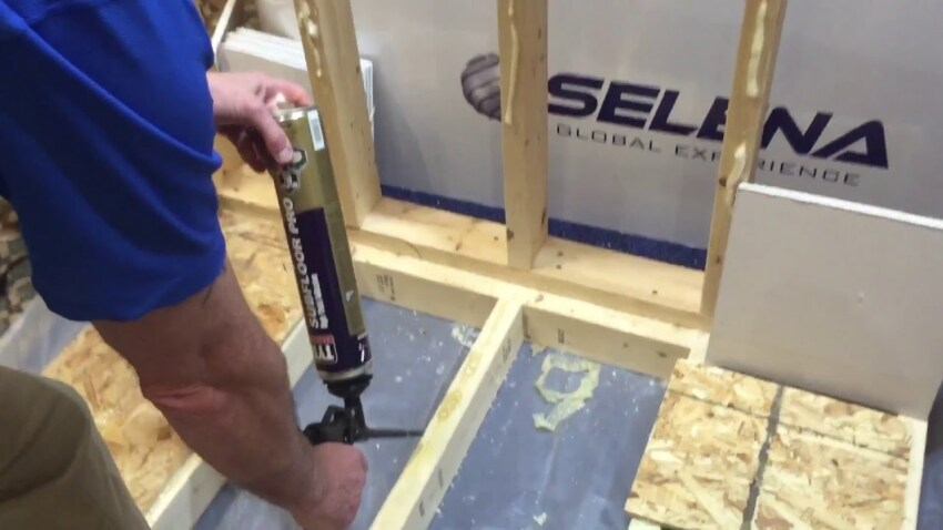 A High-Yield Subfloor Adhesive That Prevents Squeaks