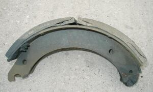 Rust jacking occurs when brake shoes corrode under the linings.