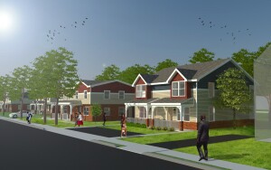 Pennrose Properties and Montgomery County Housing Authority will substantially rehab and create new units for low-income families at the Crest Manor public housing project in Abington Township, Pa.