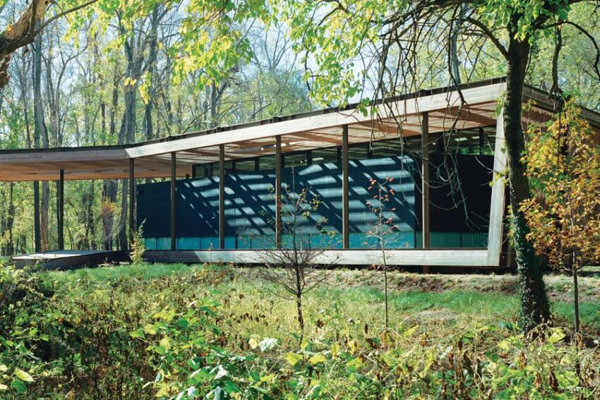 Ruth Lilly Visitors Pavilion