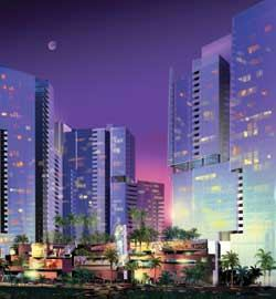 Construction on Las Vegas Central by Langson Development is set to begin this spring.
