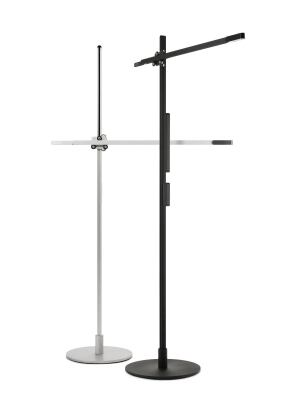 The CSYS Tall, a floor model, comes in black or silver.