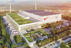 Nike's New Distribution Center is a Sustainable Biocycle