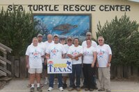 IPSSA Texas Volunteers Rescue Endangered Sea Turtles