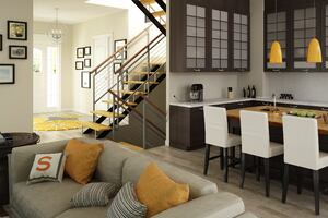 Active House Interior Design Driven by Healthy Product Selections
