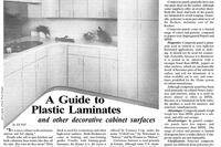 A Guide to Plastic Laminates
