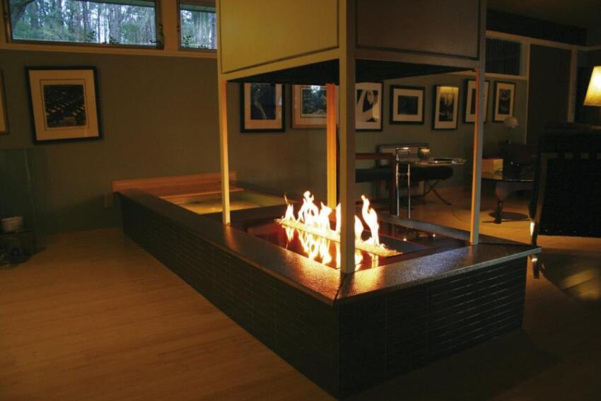 Spark Modern Fires Linear Burner