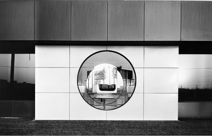 """North Wall, Steelcase, 1123 Warner Avenue, Tustin"" by Lewis Baltz"