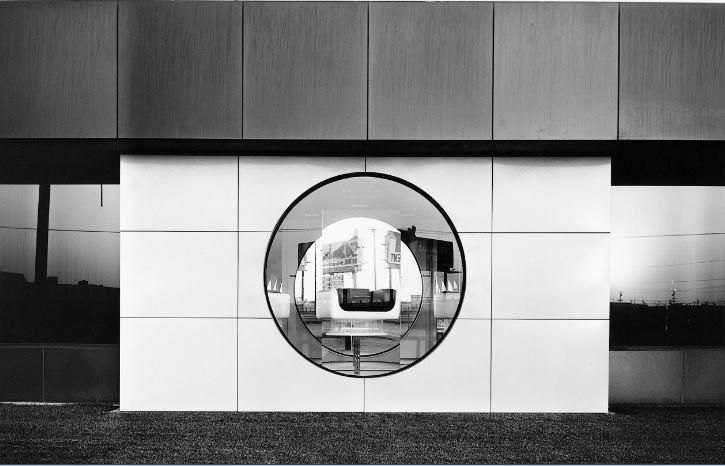 """North Wall, Steelcase, 1123 Warner Avenue, Tustin"" by Lewis Baltz"