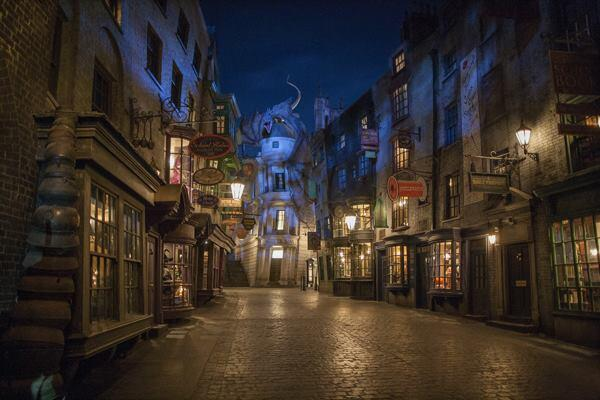 The Wizarding World of Harry Potter – Diagon Alley at Universal Orlando opens July 8.