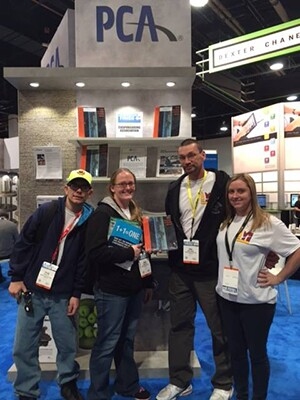 Some of the winners of the PCA Twitter Trivia at World of Concrete included George Gittinger (@GgittingerG), Masonry Water Solutions (@RLMWS), and @jztweetzz.