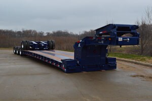 The XL 90 Hydraulic Detachable Extendable Trailer