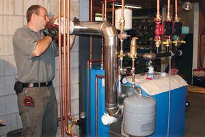 Installing an Efficient Noncondensing Boiler