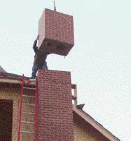 A Masonry Chimney in Six Hours
