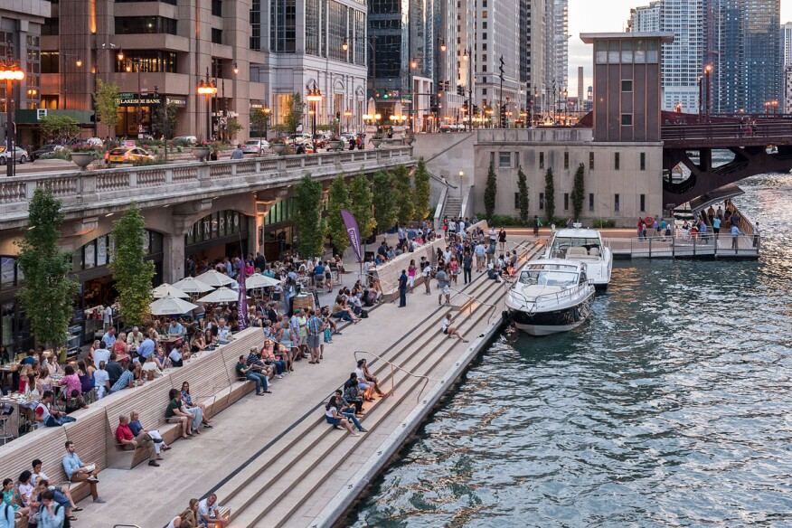 Chicago Riverwalk Phases 2 and 3—Chicago, IL