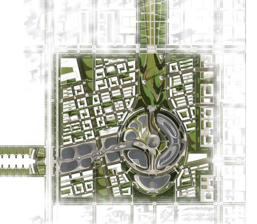 Master plan rendering, Nov. 2013