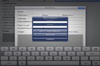 HMI's iPad Estimating Application