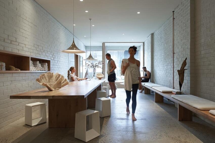 One Hot Yoga Studio by Robert Mills Architect