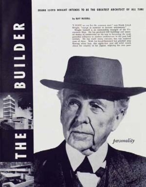 A 1955 Playboy profile of Frank Lloyd Wright