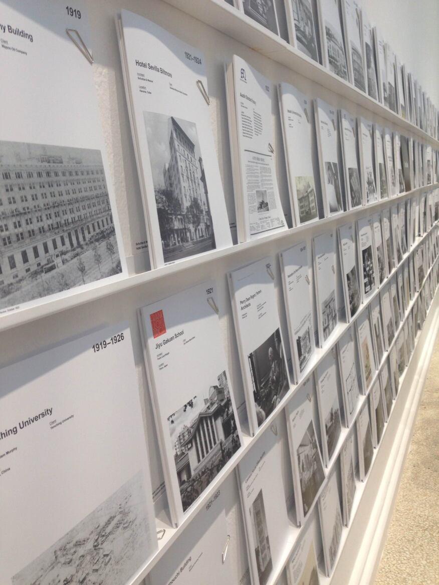 The U.S. Pavilion goes archival.