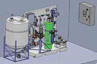 Graywater harvesting system